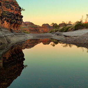 Colourful Reflections at the Bungle Bungles