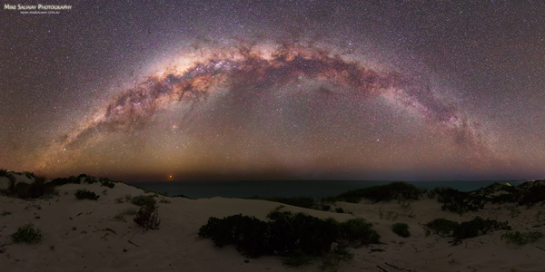 Coral Bay Milky Way Panorama