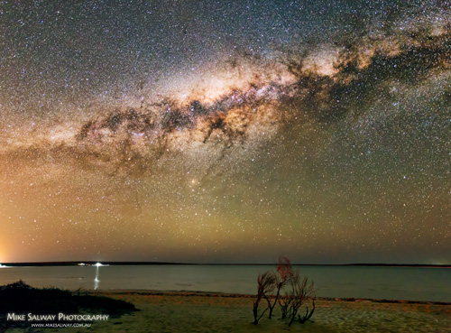 Little Lagoon and the Milky Way