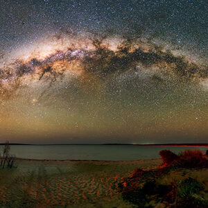 Milky Way over Little Lagoon