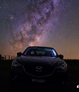 Driving Through the Star Field