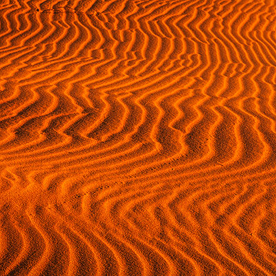 Red Dunes Square Crop
